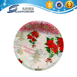 2016New designed fruit packing charger plates wholesale plastic