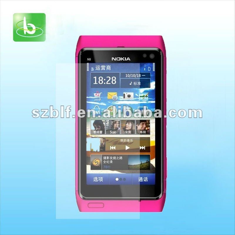 clear anti scratch screen protector for nokia n8