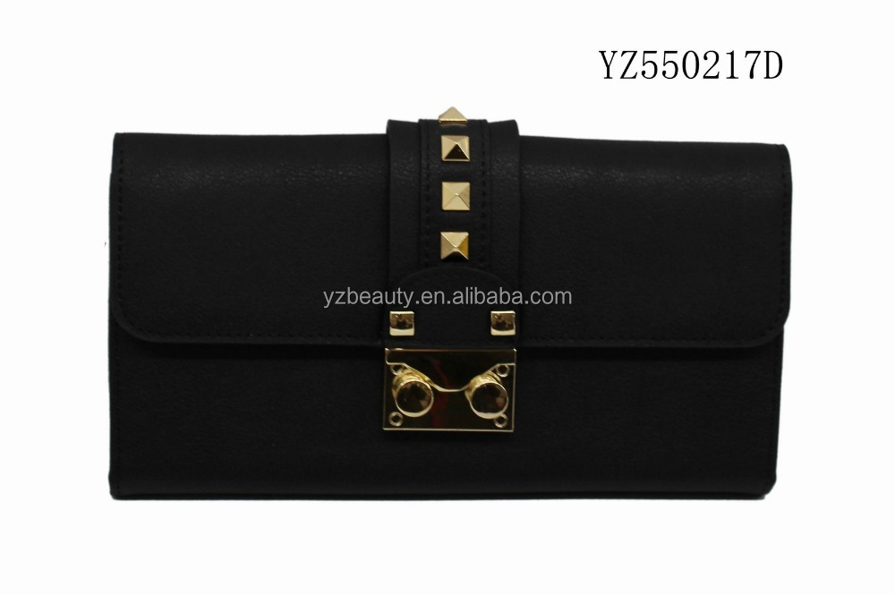 2016 new arrival good quality clutch bag/purse