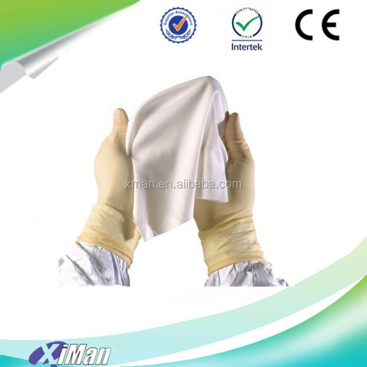 "cleaning rags non woven cleanroom polyester Wiper promotional 4""X4"""