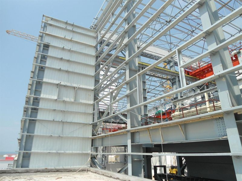 Steel structure warehouse, workshop construction design steel structure warehouse