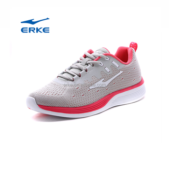 wholesale 2017 breathable summer grey black ERKE womens sports shoes running