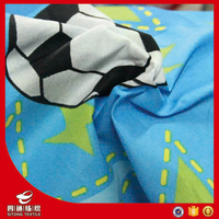 brushed new design pigment printing100% polyester fabric made in china