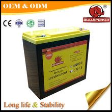 6-dzm-20 12v 20ah electric bike battery 6dzm20,agm 12 volt 20 amp battery
