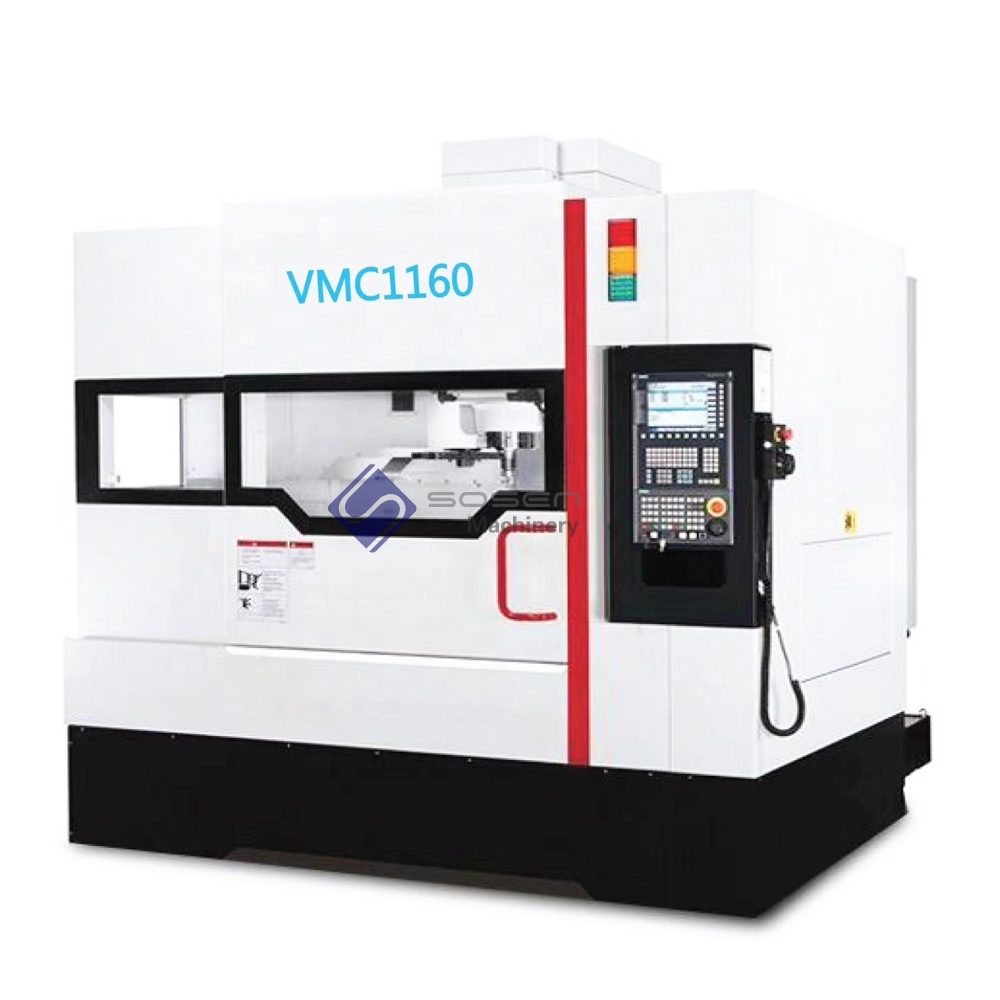 VMC1160 CNC metal milling cnc machine 5 axis