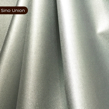 Silver caoted taffeta lightweight polyester waterproof apron fabric