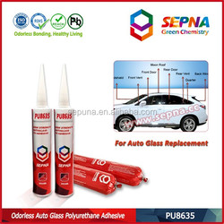 China Chemical polyurethane pu windscreen repair kit adhesive , Odorlessness PU Polyurethane Windshield Sealant for Car Repair