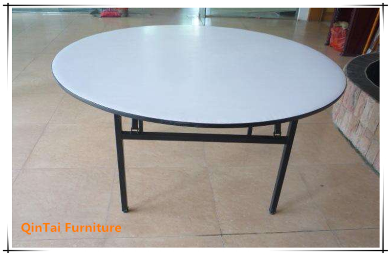 Folding dinner round banquet tables for sale