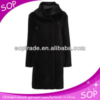 high-quality shawl collar fur coats wholesale 2014