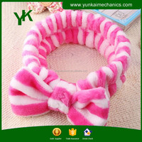Teen girls hairband microfiber hair wraps hair band for korean style