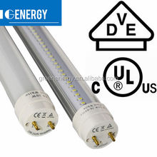 ul listed fm approved 120VAC 230VAC high quality 20W office T8 led tube light DLC TUV CE