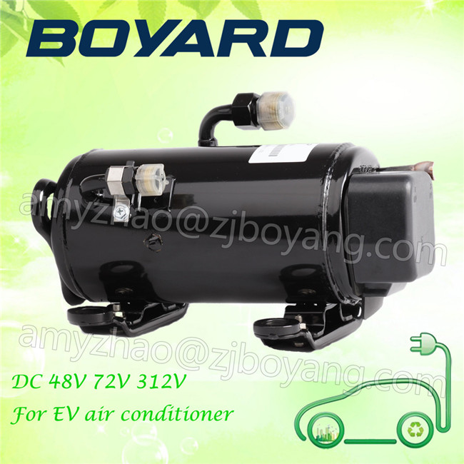 zhejiang boyard <strong>r134a</strong> brushless 12v 24v 72v electric car <strong>ac</strong> <strong>compressor</strong> for EV air conditioner accessories