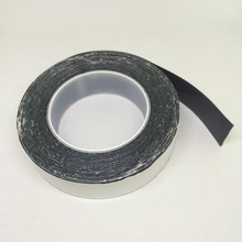 Pad manufacturer black PU material self-adhesive 3M tape gummed sticky mat