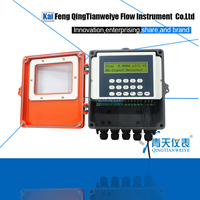 Soft water panel ultrasonic flow meter