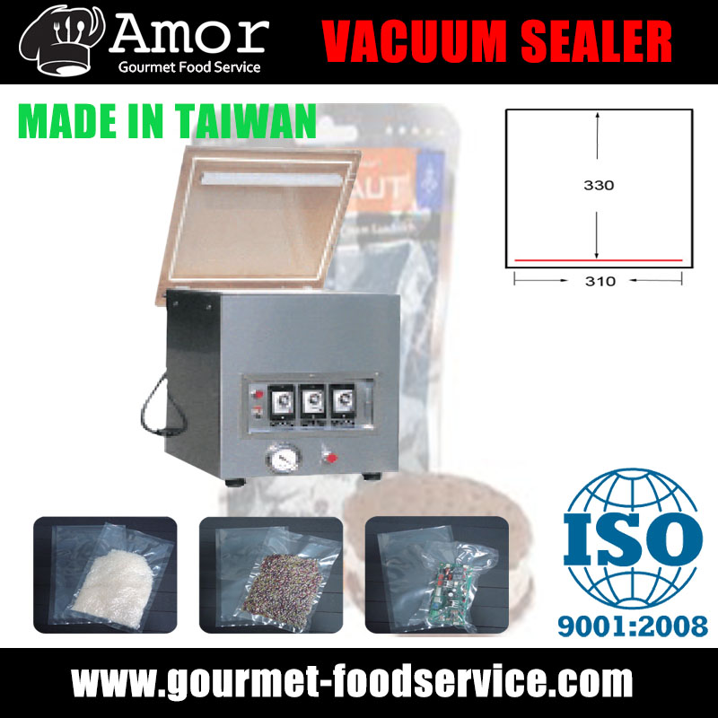 Up-to-date vacuum forming machine with single chamber