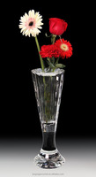 Glass flower vase for wedding