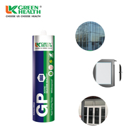 SGS outdoor insulating glass acetic silicone sealant