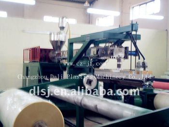 Multi-layer extrusion laminating machine for nonwoven/woven/paper/plastic film/metalic foil