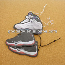 Famous brand shoes shape car vent stick air freshener