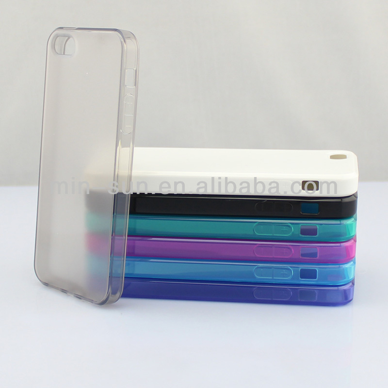 2013 customized design good quality plastic tpu case for iphone 5