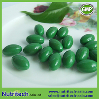 Spirulina Softgel capsule Oem Private label/contract manufacturer
