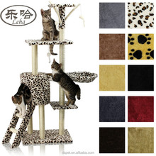 Deluxe Cat Tree Tower Condo Scratcher Post Furniture Kitten House Hammock