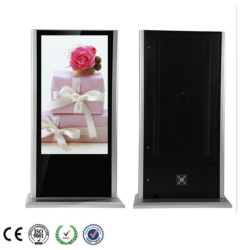 "55"" Floor Stand For LCD Multimedia Player"
