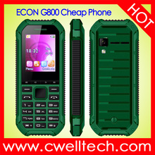 Wholesale Mobile Phone Econ G800 Feature phone 1.8 inch Quad Band 1000mah Big Battery GSM Mobile phone