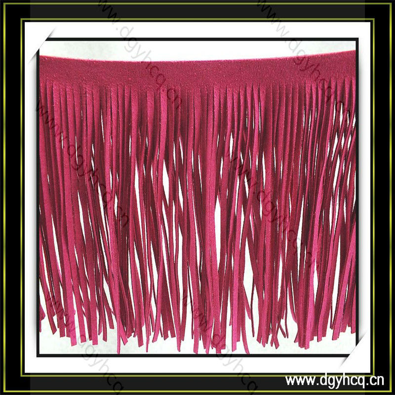 reliable quality pretty & colorful fringe trim