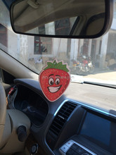 The Best Promotional paper strawberry air fresher /freshener/freshner with fresh scents