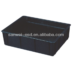 custom antistatic plastic clamshell boxes manufacturer