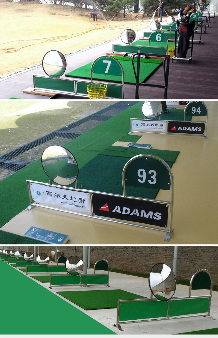 golf tee divider with mirror & number 2013 customized