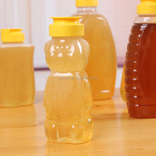 360ml Plastic Screw Cap Honey Bottles/Plastic Jars for with Metal Lid