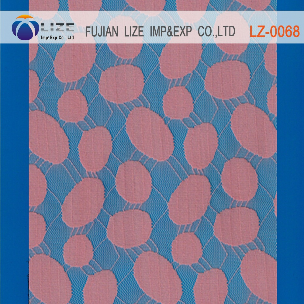 Cute and fashion dot lace fabric peruvian dot lace fabric