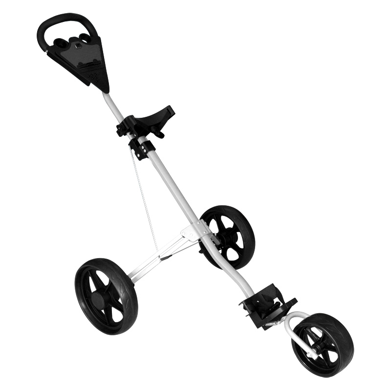 Golf trolley with 3wheels and big grip