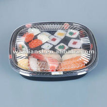 disposable multi-use japanese sushi trays/party trays
