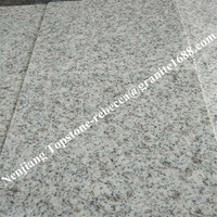 Polished natural stone slabs water wave white granite spray white granite