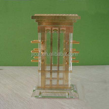 Crystal Wind Tower Dubai UAE islam gifts crystal building,and crafts model souvenir