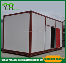 Low cost prefabricated 20ft labor prefab apartments container house