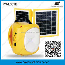 15hours solar rechargeable led lantern 2W light