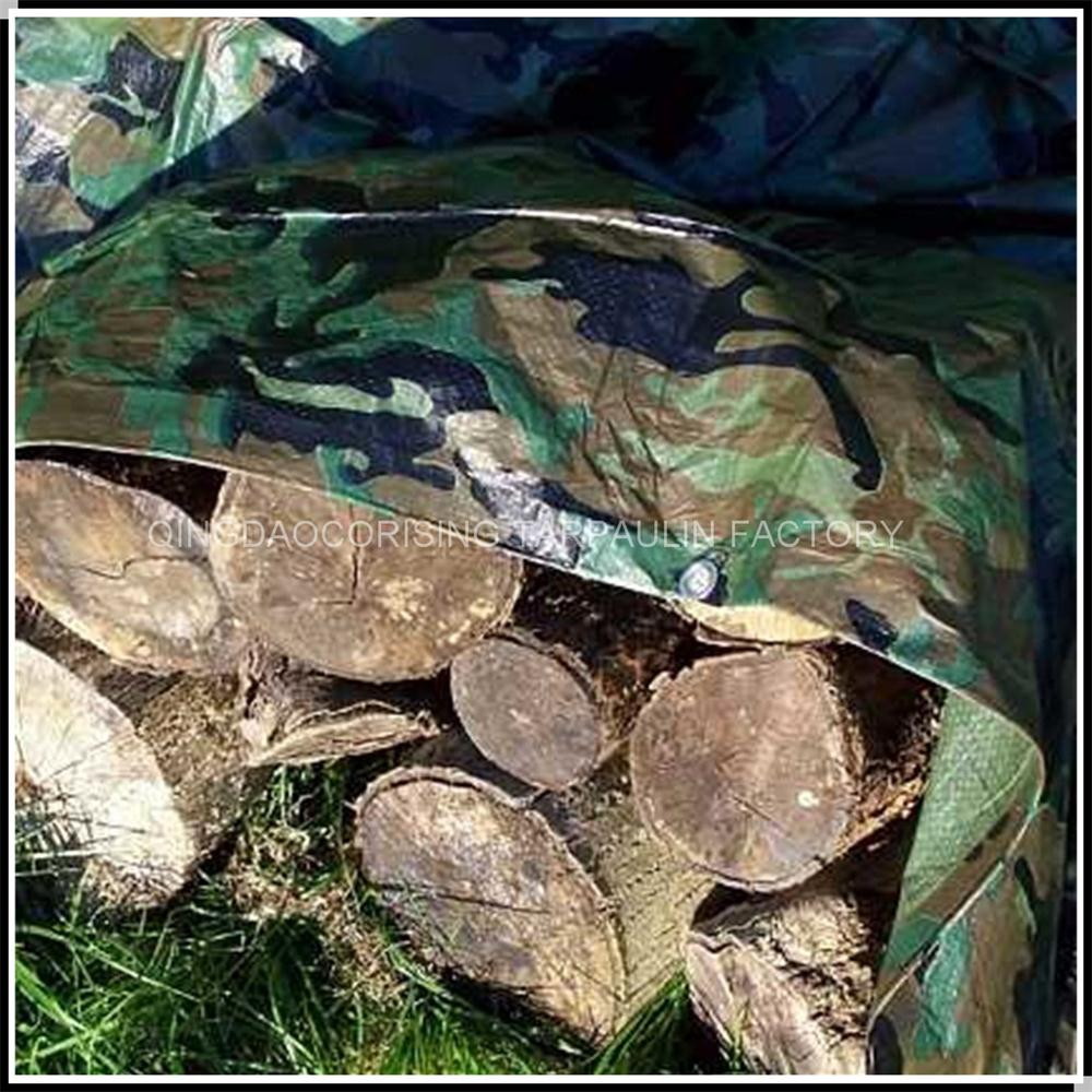 Waterproof Camping Ground Sheet Cover Camouflage Tarpaulin