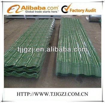 color coated imitation roof tiles
