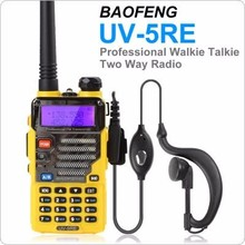 Portable small size dual band FM 2 way radio Baofeng BF UV-5RE UHF VHF with VOX function