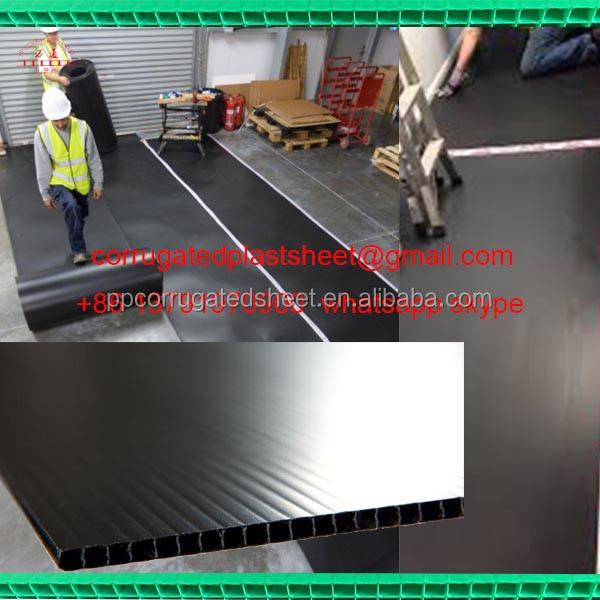 pp temporary floor covering sheet/board