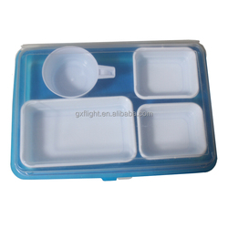 Airline Large Plastic Disposable Lunch box