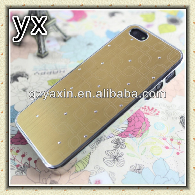 Aluminum hard case for iPhone 5S 5 with front bumper,4th design m2 aluminum case for iphone 5