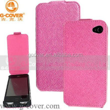 Hottest PU leather case for iphone4 wallet detachable magnet leather case for iphone 4