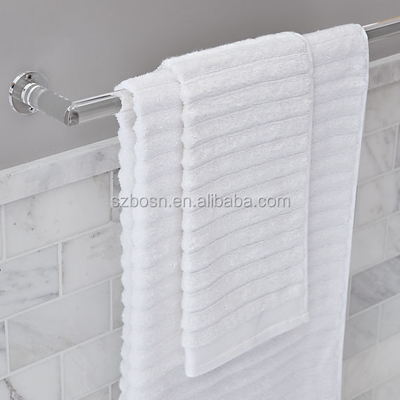 Wholesale Stylish Design Crystal Acrylic Towel Bar Holder