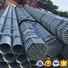 Low price and high quality building materials Steel galvanized pipe for greenhouse Pre galvanized steel pipe