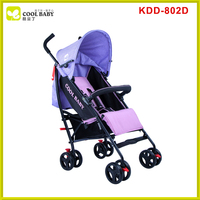 New design Light Purple Thin Fabric Pram Softtextile Stroller Baby